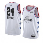 Camisetas NBA Baratas Los Angeles Lakers 2019 Kobe Bryant 24# Blanco All Star Game Swingman..
